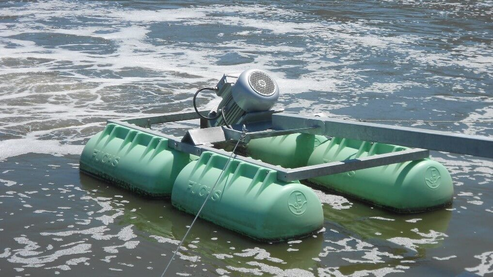 1_OxyStar Aerator, Float Mounted
